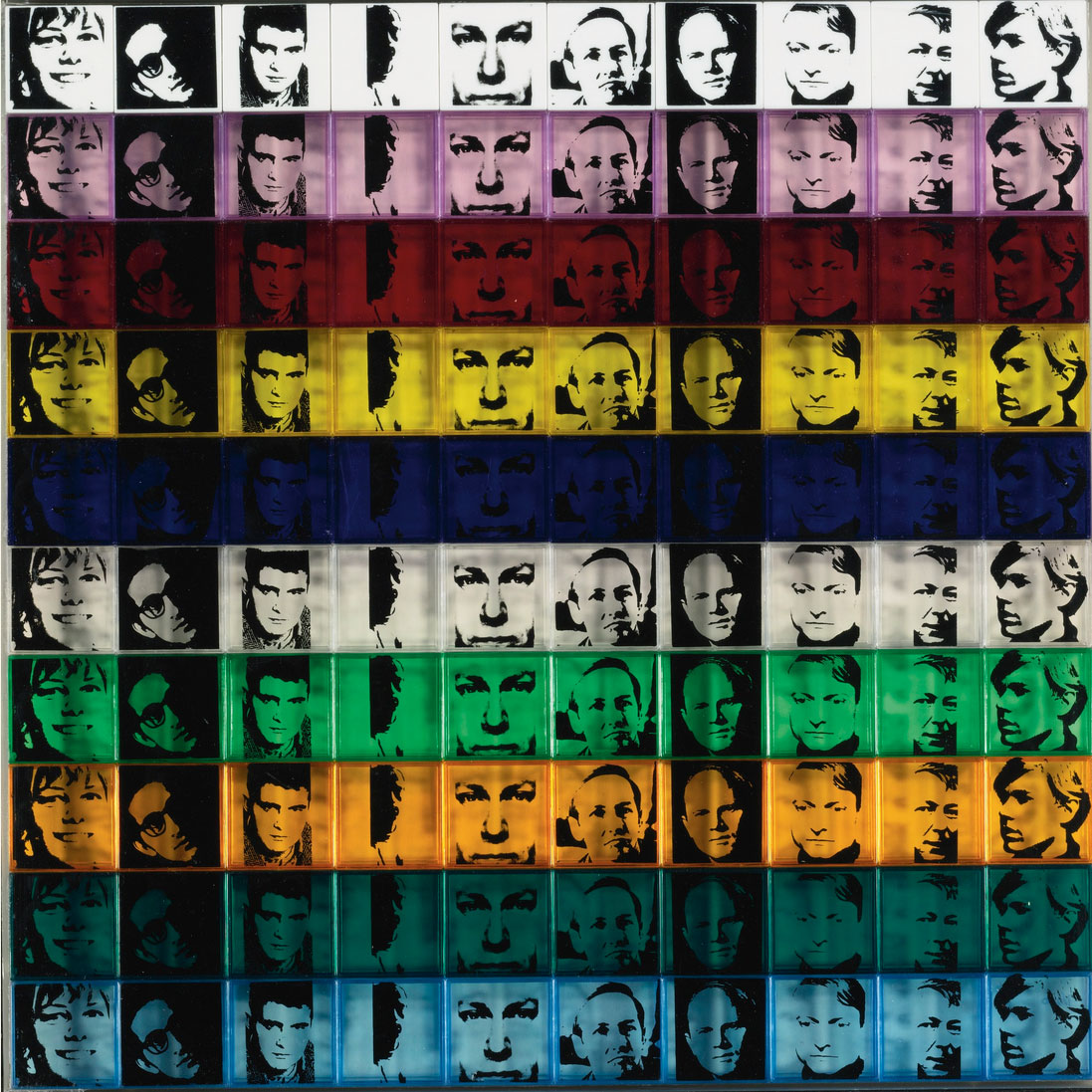 Portraits Of The Artists (fs Ii.17) by Andy Warhol