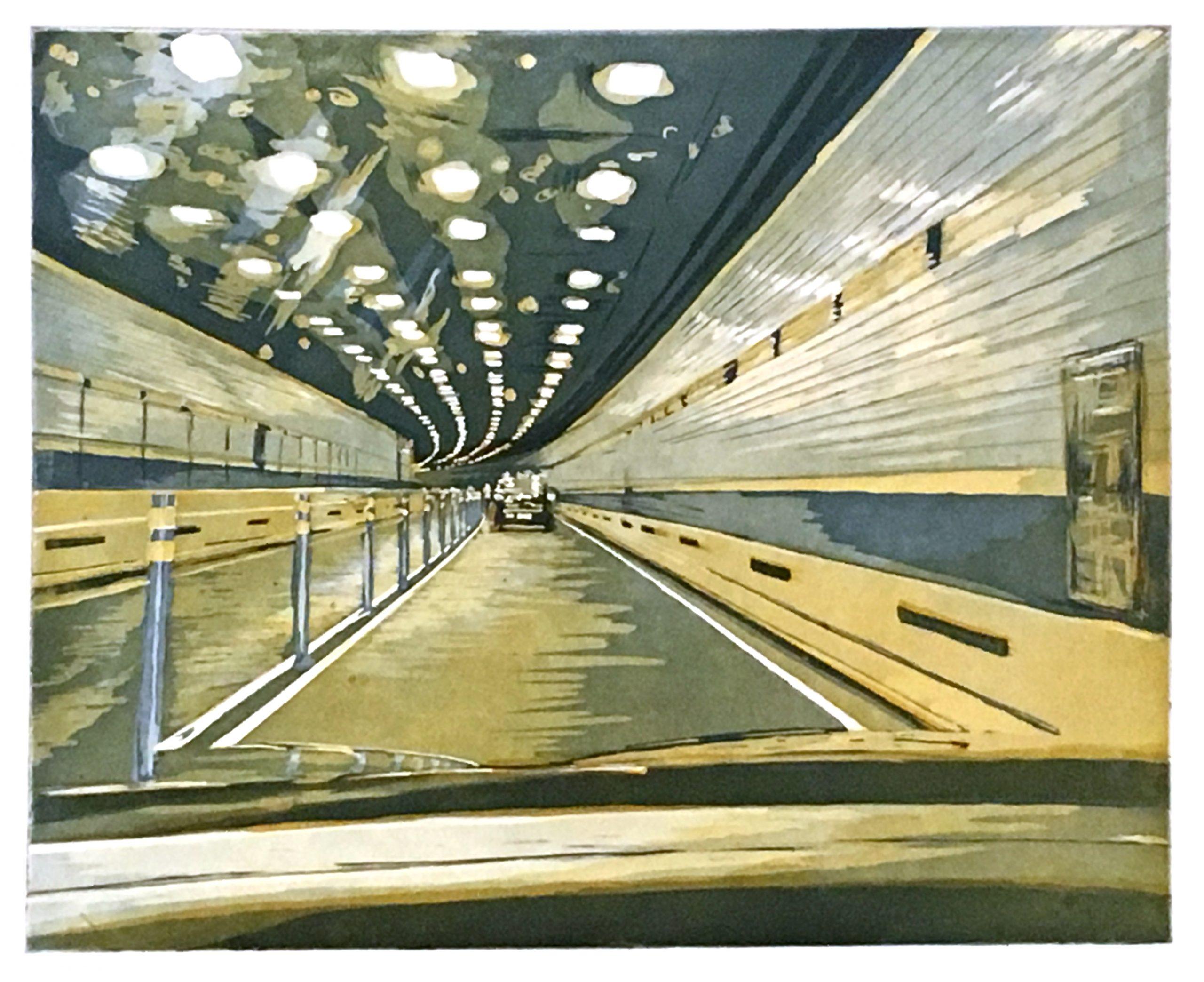 Battery Tunnel by Julia Samuels