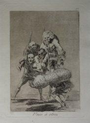 Unos à Otros – 1st Edition by Francisco Goya at Sarah Sauvin (IFPDA)