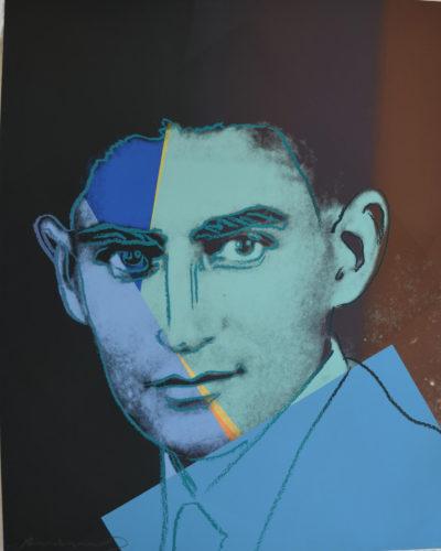 Franz Kafka Tp by Andy Warhol