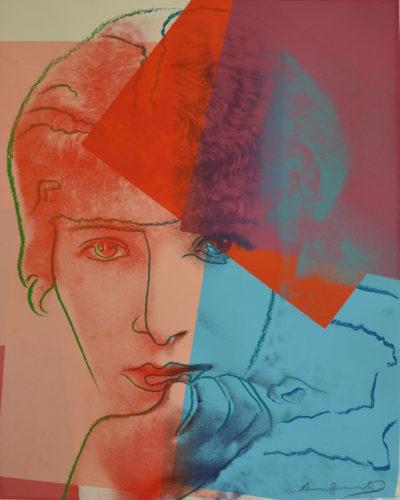 Sarah Bernhardt Tp by Andy Warhol