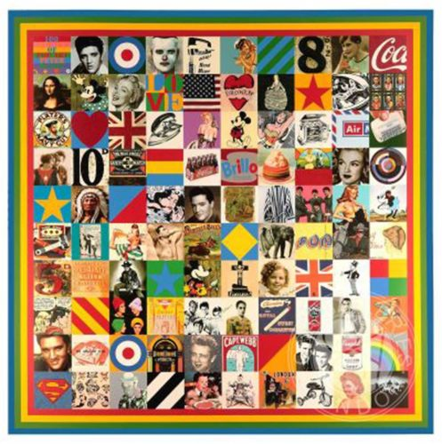 100 Sources Of Pop by Peter Blake