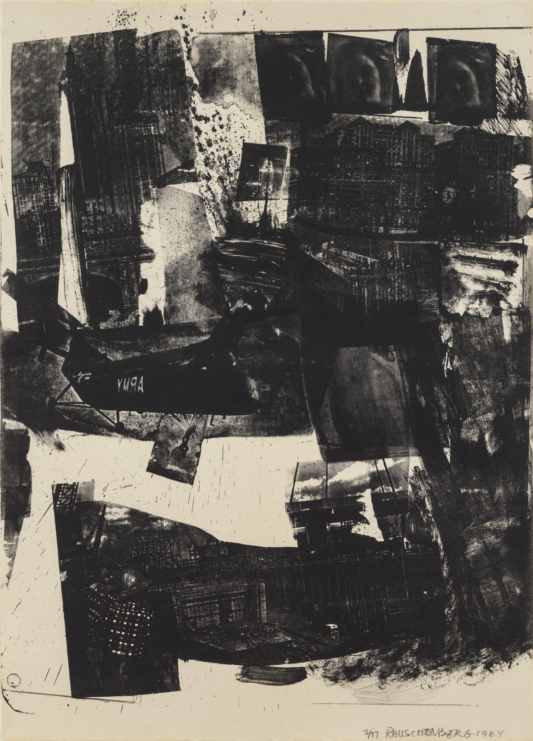 Spot by Robert Rauschenberg