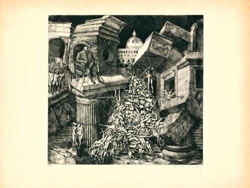Sacco Di Roma by Peter Ackermann at