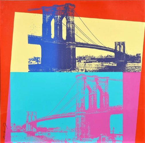 Brooklyn Bridge by Andy Warhol