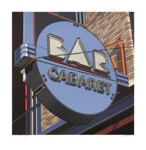 Bar Cabaret by Robert Cottingham