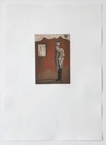 Haus Der Bilder by Peter Doig