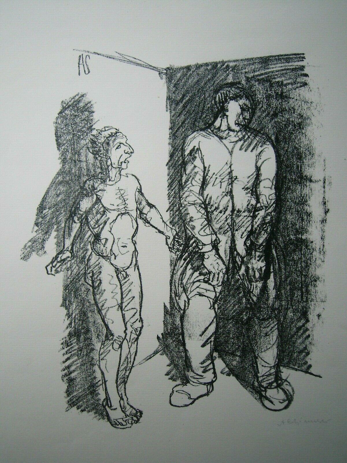 Gefangener (prisoner) by Adolf Schinnerer