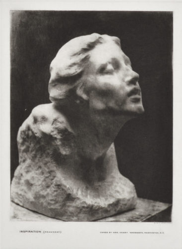 Inspiration (fragment) by Gutzon Borglum