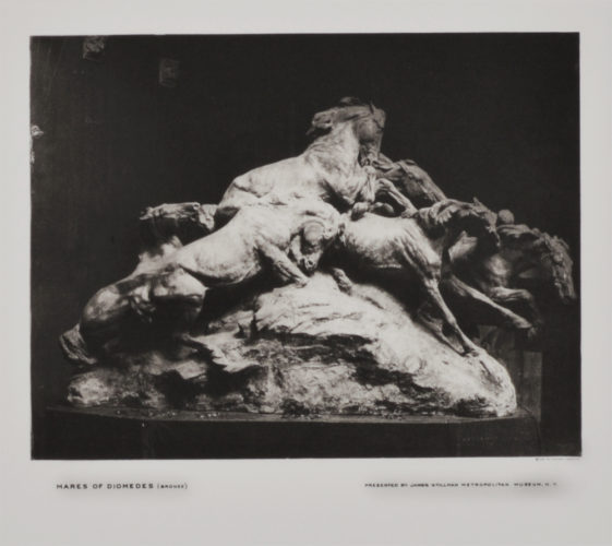 Mares Of Diomedes (side) by Gutzon Borglum