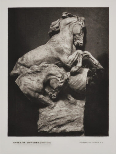 Mares Of Diomedes (fragment 3) by Gutzon Borglum