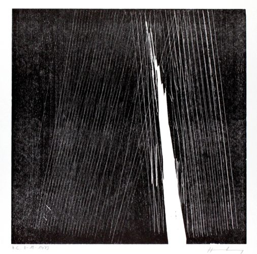 H-18-1973 by Hans Hartung at