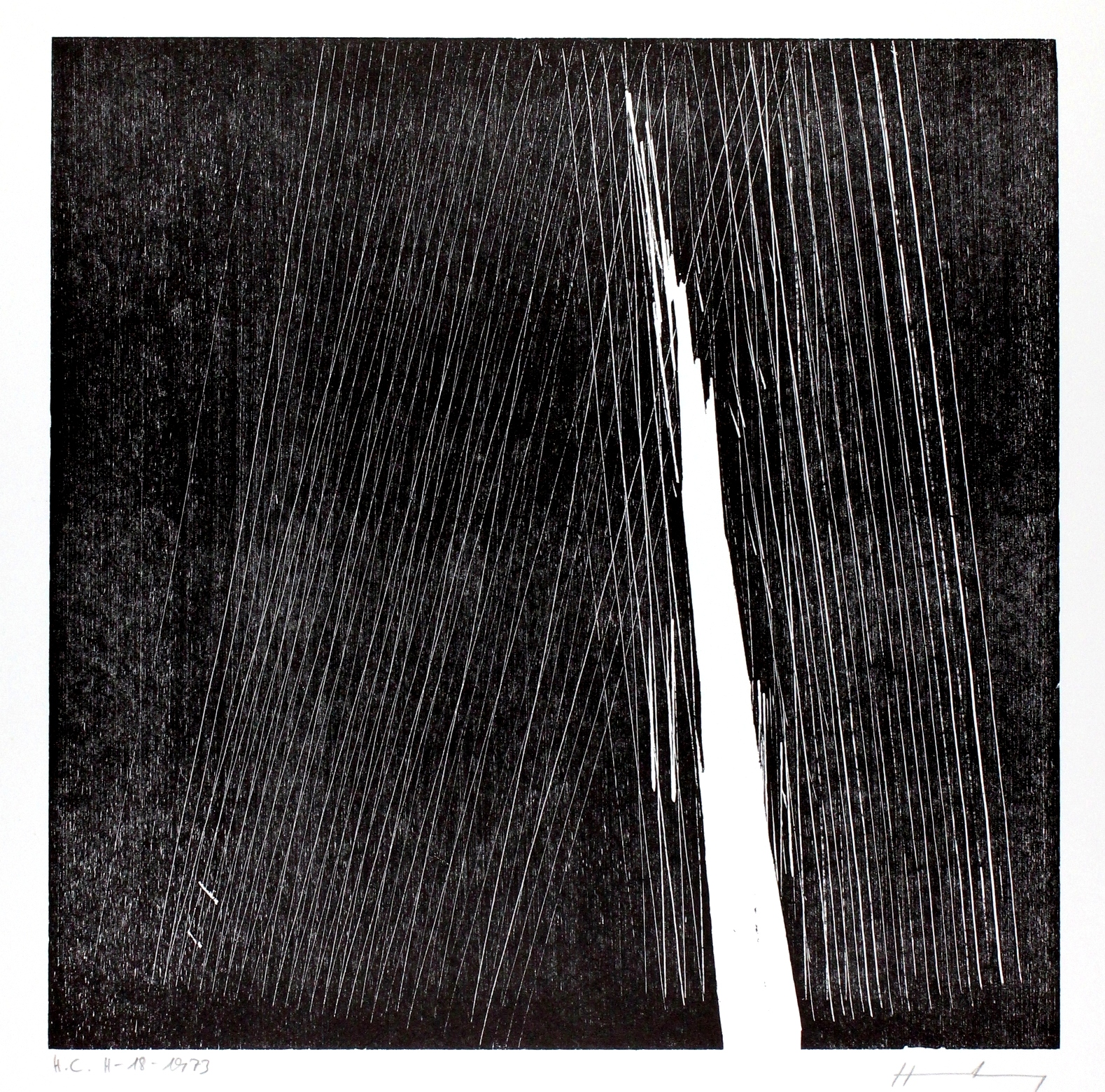 H-18-1973 by Hans Hartung