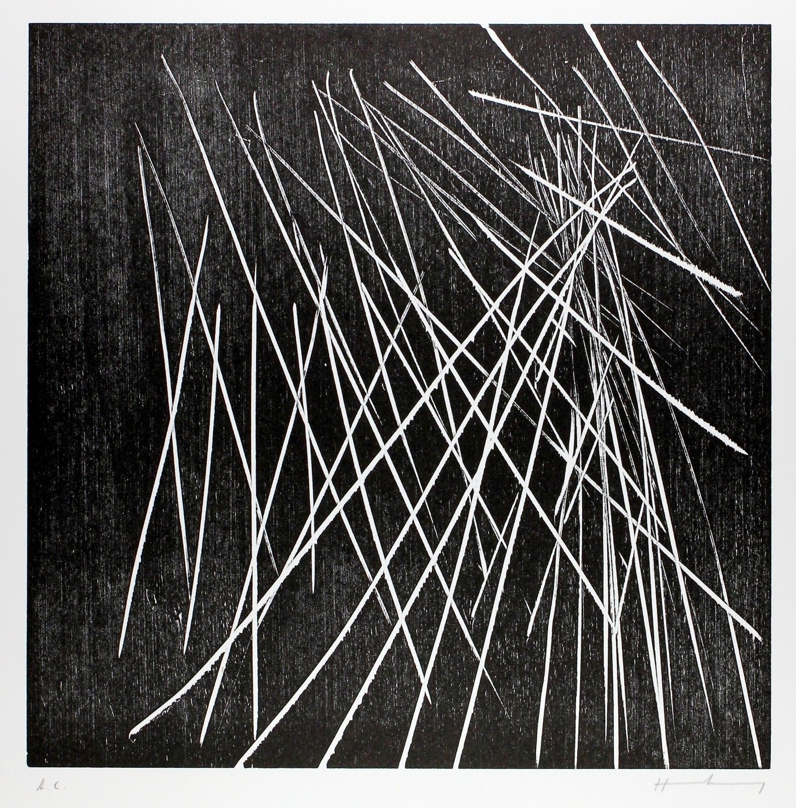 H-8-1973 by Hans Hartung
