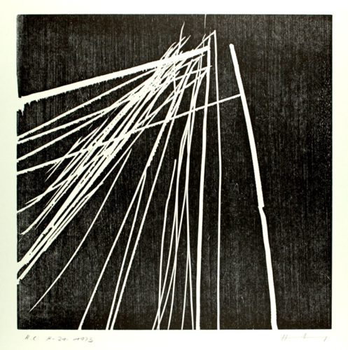 H-21-1973 by Hans Hartung at