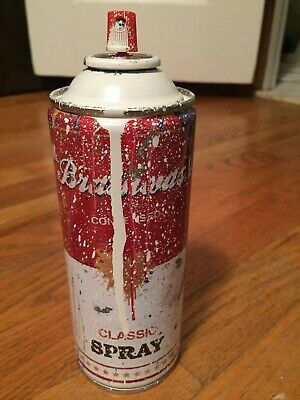 Spray Can by Mr. Brainwash at
