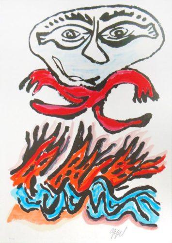Tantrika Ii by Karel Appel