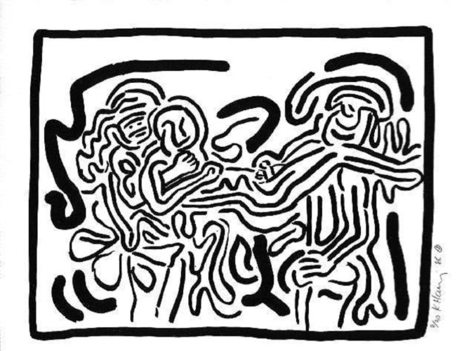 Bad Boys Suite by Keith Haring