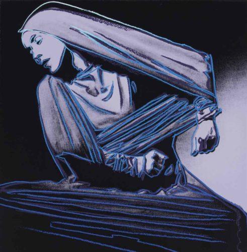 Lamentation (fs Ii.388) by Andy Warhol