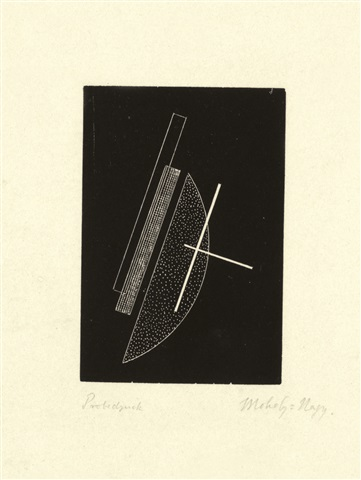 Komposition by Laszlo Moholy-Nagy