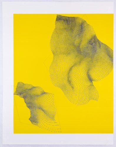 Untitled, (18-308a) by Linn Meyers