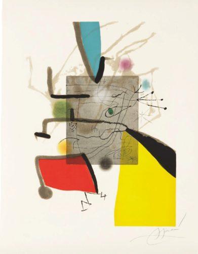 Llibre Dels Sis Sentis, Ii by Joan Miro