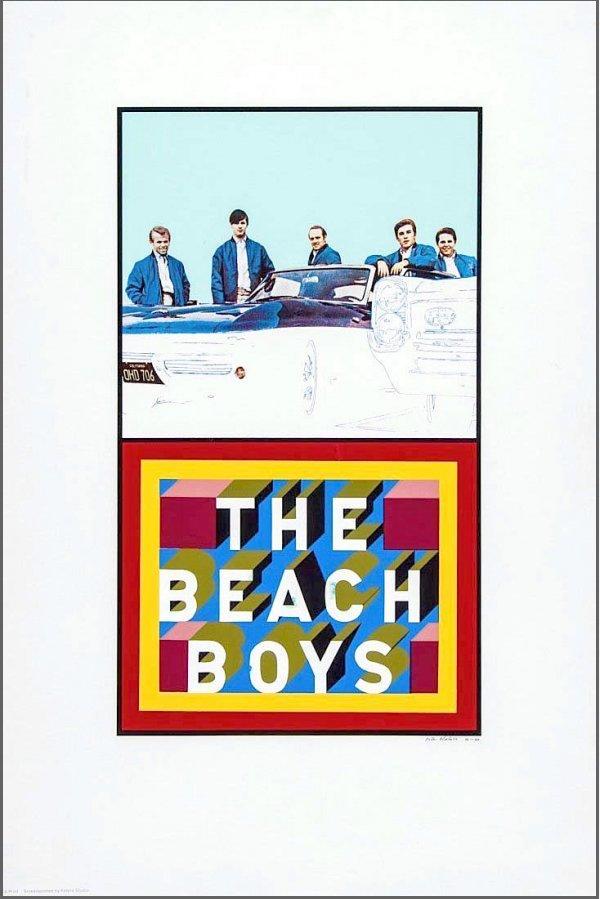 The Beach Boys by Peter Blake