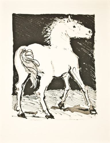 Le Chval (le Cheval) (the Horse) by Pablo Picasso