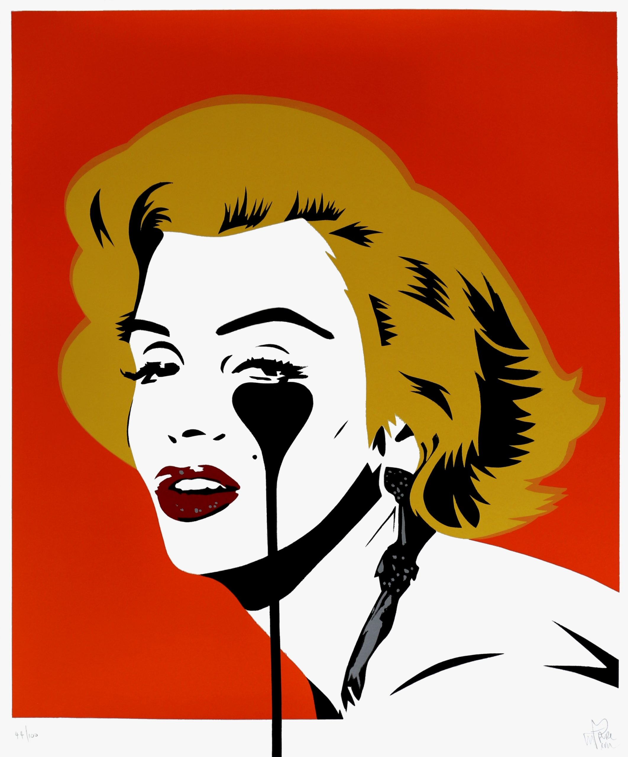 Marilyn Glam – Tangerine Dream by Pure Evil