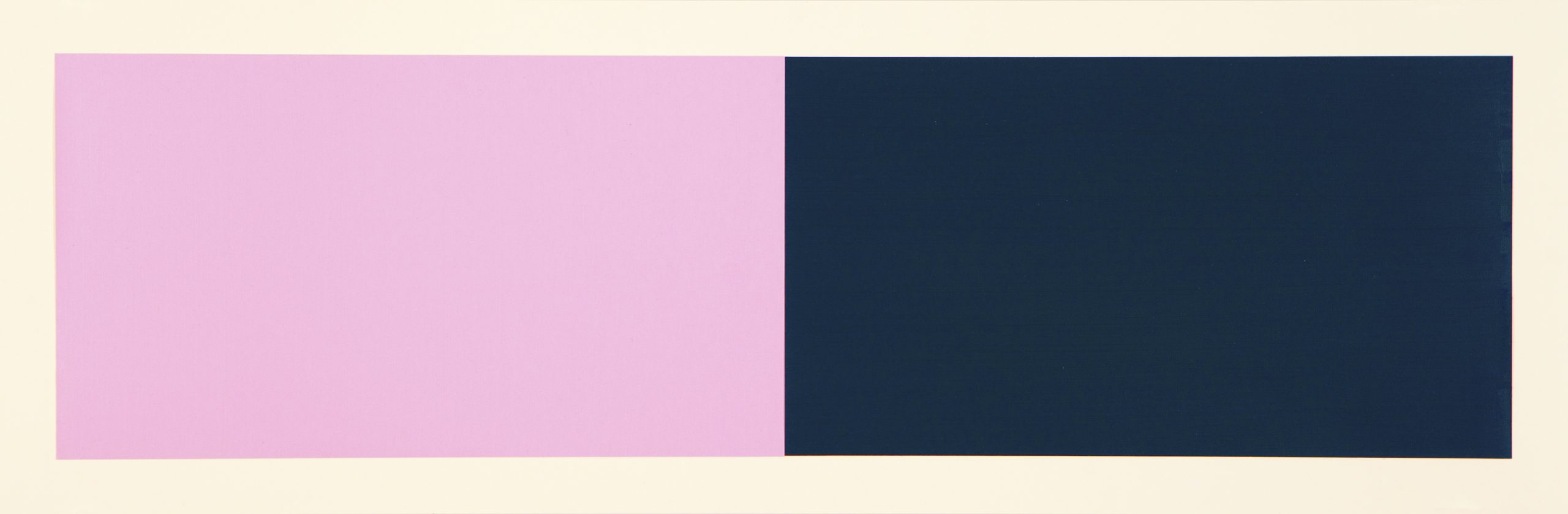 Rivers And Mountains/3, Pink/green by Rupert Deese