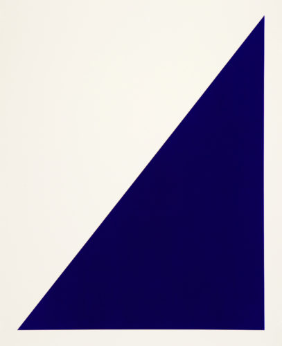 Rivers And Mountains/10,  Blue Sail by Rupert Deese at