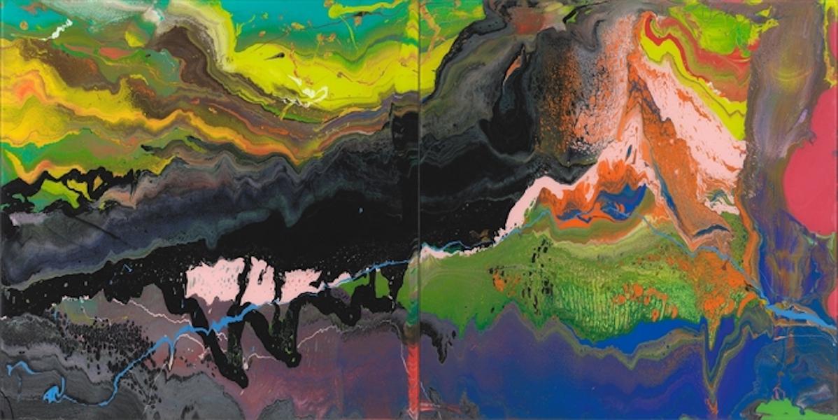 Flow by Gerhard Richter