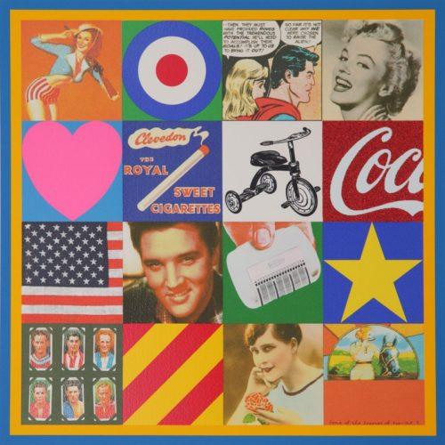 Sources Of Pop Art Iii by Peter Blake