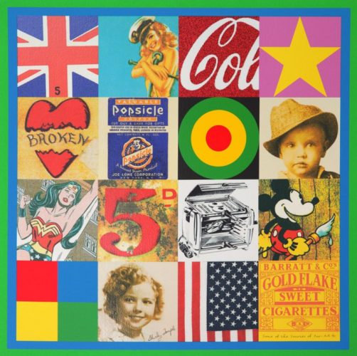 Sources Of Pop Art Iv by Peter Blake