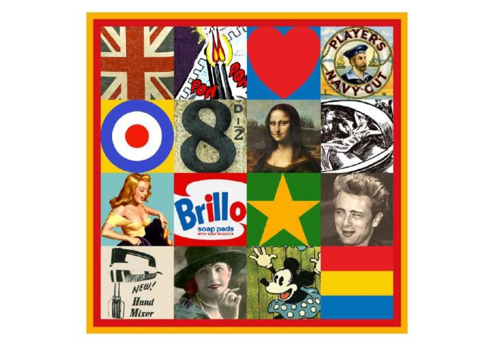 Sources Of Pop Art V by Peter Blake