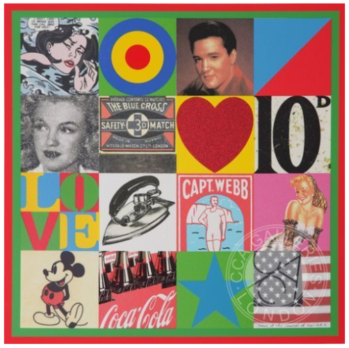 Sources Of Pop Art Vi by Peter Blake