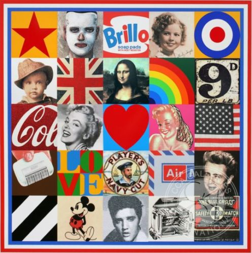 Sources Of Pop Art Vii by Peter Blake