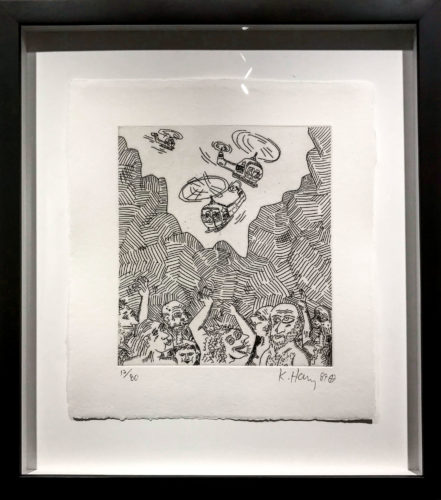 The Valley #12 by Keith Haring at