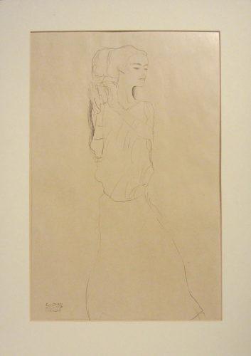 Untitled I.vi by Gustav Klimt