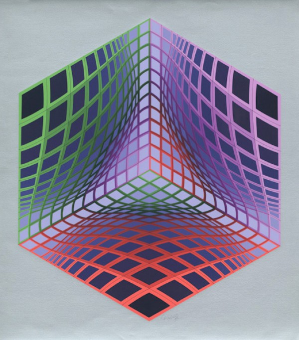 Test Tarka by Victor Vasarely