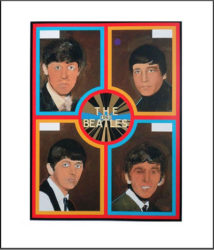 The Beatles 1962 by Peter Blake at Independent Gallery