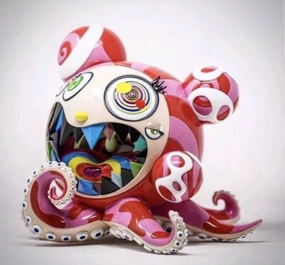 Mr. Dobtopus A by Takashi Murakami