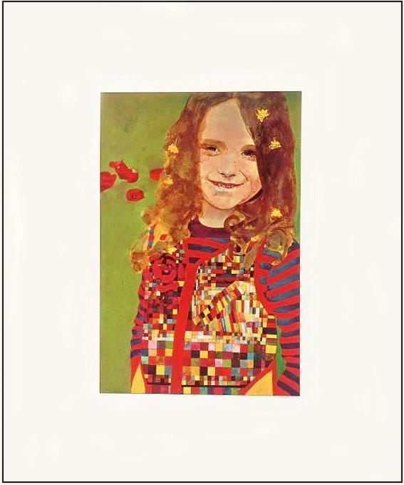 Girl In A Poppy Field by Peter Blake
