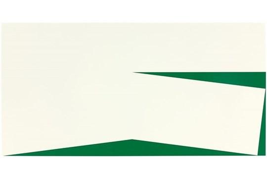 Blanco Y Verde, 1960/2010 by Carmen Herrera