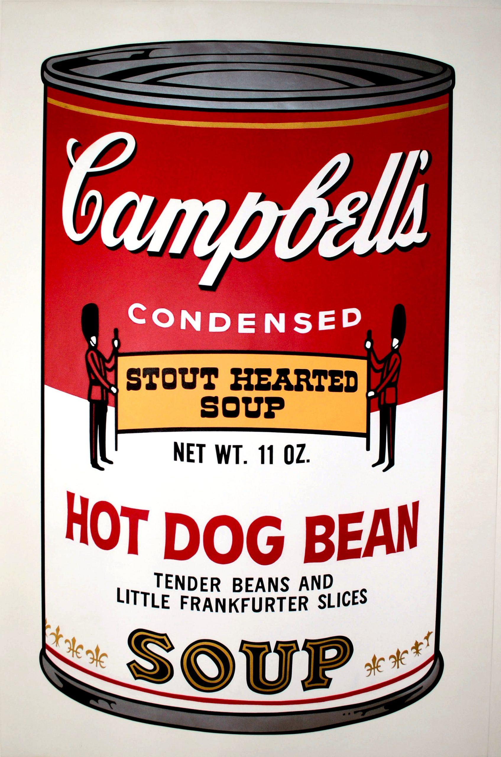Hot Dog Bean (fs Ii.59) by Andy Warhol
