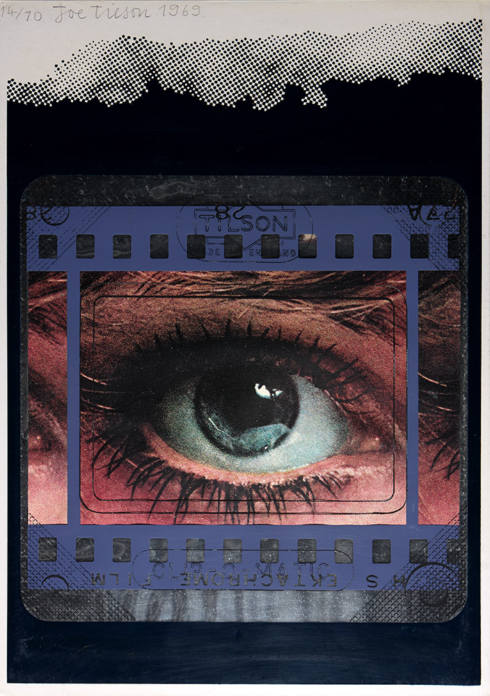 Transparency, Clip-o-matic Eye by Joe Tilson