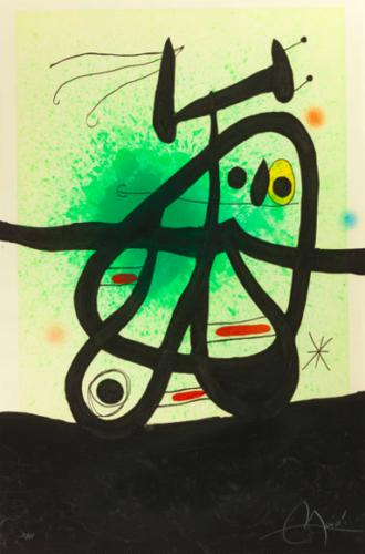 L'oiseau Mongol by Joan Miro