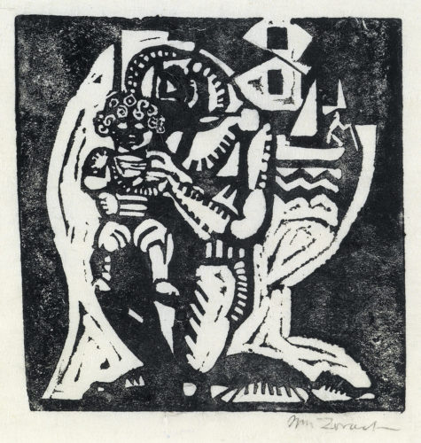 Father And Son by William Zorach
