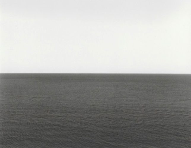 Time Exposed: #301 Caribbean Sea, Jamaica, 1980/1991 by Hiroshi Sugimoto