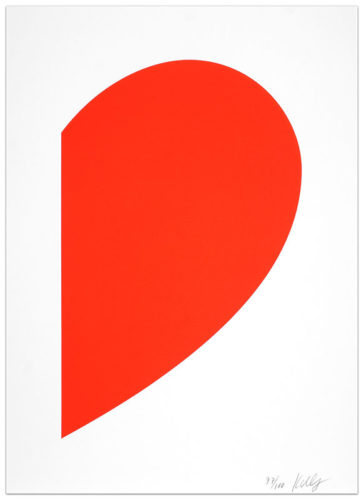 Small Red Curve by Ellsworth Kelly